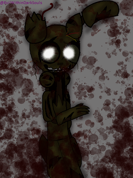 Five Nights At Freddy's 3 .::new animatronic::. by EvilWithinDarkSouls