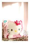 Hello Kitty cushion by KAROQuinn
