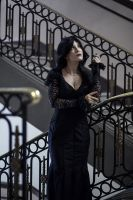 Normal is an illusion - Morticia Addams cosplay by Voldiesama