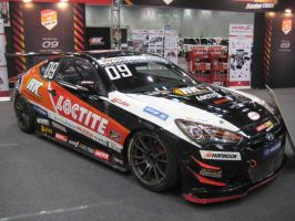D1GP 2014 Hyundai Genesis Coupe DRIFT 380GT by toyonda