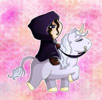 I'm on the Unicorn by ceressiass