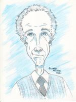 Caricature of Neighbor's Father by Car2nst