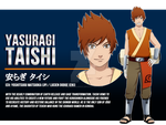 Naruto OC - Taishi Yasuragi [Changing Fate Series] by dreamchaser21