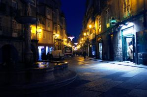 Ourense and some lights by Xilou95