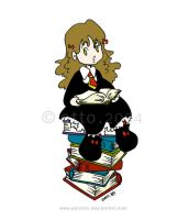 HP . Hermione Granger by porotto