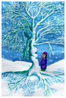 Winter Tree by Charmed-Ravenclaw