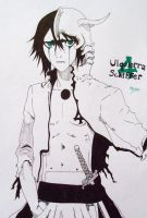 Ulquiorra  Schiffer_ ink black by Miyakun6