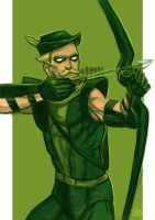 Daily Sketches Green Arrow by fedde