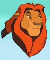 Younger Mufasa by dyb