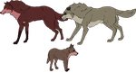 Wolf cubs no. 20 by PhlegmaticBreedables