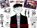 Happy Birthday Jhonen Vasquez by Jendalia