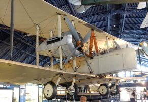Alcock and Brown's Vickers Vimy by rlkitterman
