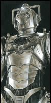 Doctor Who - The Cyberleader by caldwellart