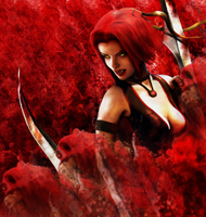 Blood Passion - Blood Rayne by Kaji-Ninja