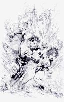 Superman 211: Jim Lee by boysicat