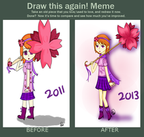 Draw this Again! Meme by Therapii