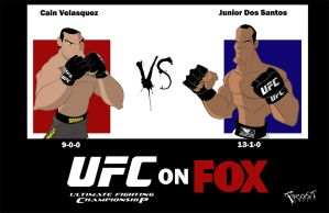 UFC on FOX by JoshawaFrost