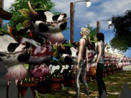 Cowplant Loving 1 - Sims 2 by ticticc13
