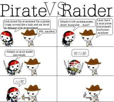 Pirate vs Raider by IndianaFan