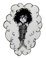 Edward Scissorhands by morganadulac