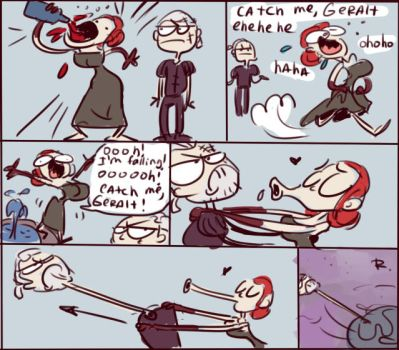 The Witcher 3, doodles 12 by Ayej