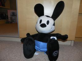 Oswald the Lucky Rabbit toy by The-Randomer