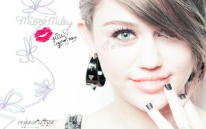 wallpaper miss miley cyrus by MyHeartWithJoe