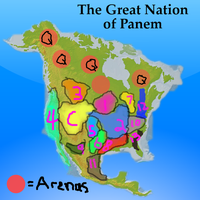 The Nation of Panem by 4thElementGraphics