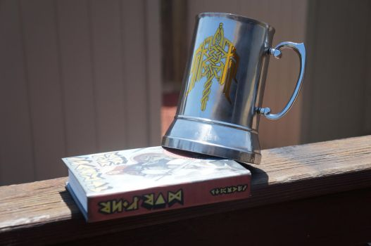 Dragon Age Dwarven Merchants' Guild Beer Mug by ammnra