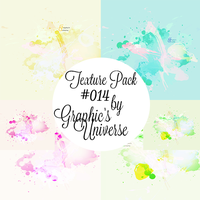 Texture Pack #14 Watercolor by Graphic's Universe by GraphicsUniverse