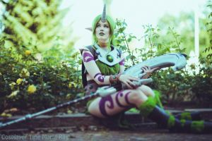 League of Legends - Dryad Soraka by KawaiiTine