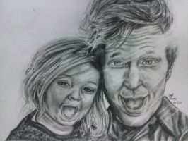 Mike Dirnt and Ruby Mae by Romii-oddartist