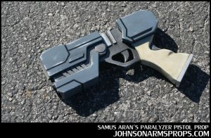 Samus Aran's Paralyzer Pistol Prop by JohnsonArms
