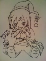 Me...christmafied: Merry Christmas! Colorless by NinjaSoulMasamune
