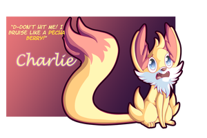Charlie the Fennekin by starrywish