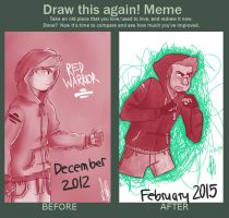 Draw this again Red by TheStupidFox
