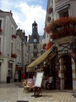 Streets of Amboise by Angel-Escondida