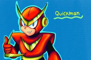Quickman by RoseBereArtist