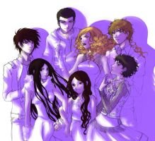 The Cullens Twilight Series by Azu1982