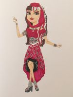 1001 Tales: Cerise Hood by madiquin185