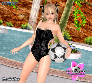 Marie Rose - Sexy Soccer Babe by ShadowNinjaMaster