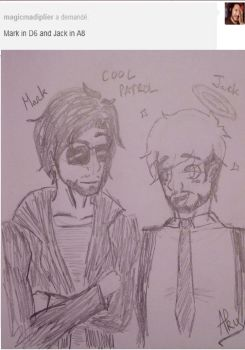 Mark and Jack - [Tumblr request] by RubyMillow