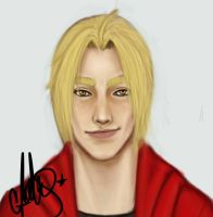 edward elric by abbyelric