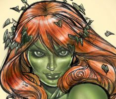 Hot Poison Ivy Details by HectorRubilar