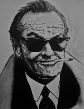 jack nicholson by willwoosharon