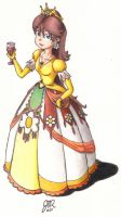 A New Dress for Daisy colored by JMR-Mobius-1