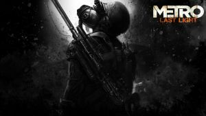 Metro Last Light Custom wallpaper by Vis-al-Ghul