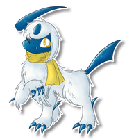 Melnik the Absol by FuwaKiwi