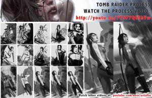 Tomb Raider Reborn (Process) by ArtofTu