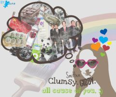 Clumsy. by bhurberry